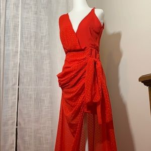 NWOT LIONESS DRESS, Small Red